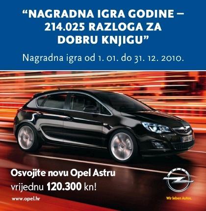 Mozaik knjiga i Opel Astra