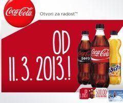 coca-cola nagradna igra 2013
