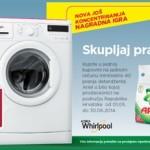 Ariel nagradna igra za 60 whirpool perilica za 40 pranja
