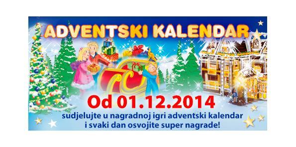 Muller dobitnici nagradne igre adventski kalendar