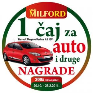 Milford nagradna igra