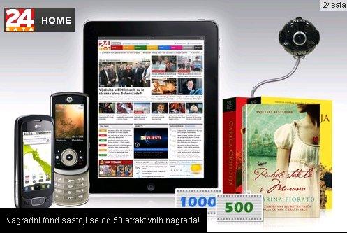 24 sata - iPad i 50 nagrada