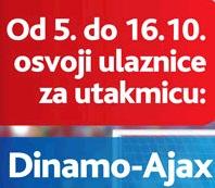 nagradna igra karte utakmica dinamo ajax 18.10.2011
