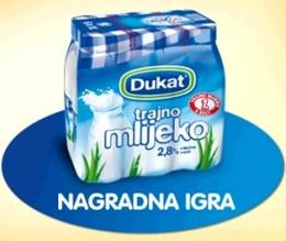 preko dukat etiketa do godisnjeg budžeta: mlijeko nagradna igra 2011
