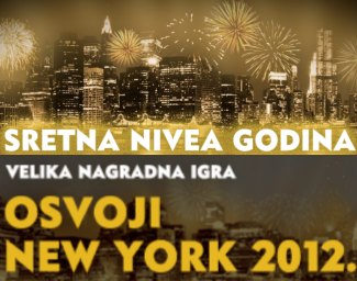 Nivea nagradna igra 2011 Osvoji new-york