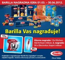 barilla-nagradna-igra-2012