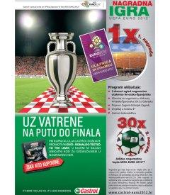 Castrol nagradna igra: Ulaznice za euro 2012