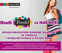 avenuemall nagradna igra: budi fresh za naš keš