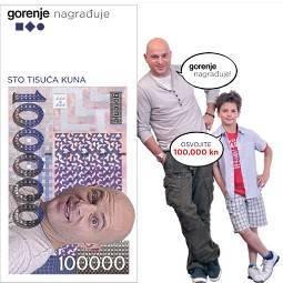 gorenje nagradna igra 2012 za 100000-kuna