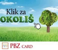 pbz card: american express klik za okolis nagradna igra