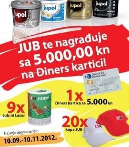 jub nagradna igra 2012 - JUB boje