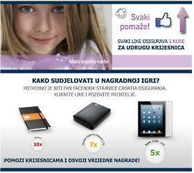 croatia osiguranje nagradna igra 2012 facebook