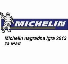 Michelin nagradna igra 2013 za ipad