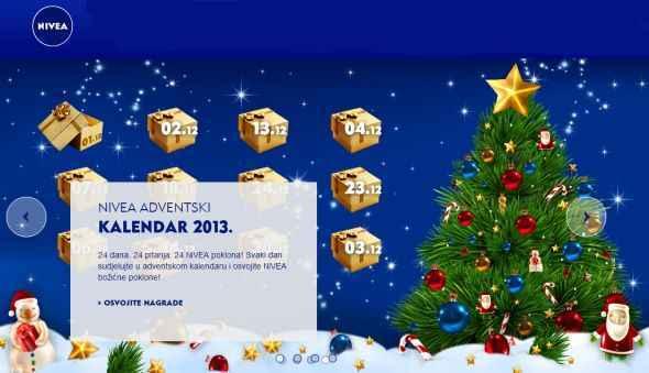 nivea adventski kalendar 2013
